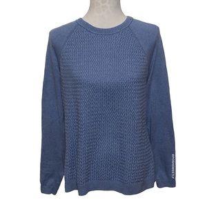 Sonoma Basketweave Crewneck Sweater
